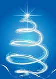 Fantasie-Weihnachtsbaum lizenzfreie abbildung