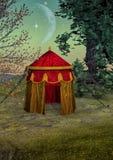 Fantasie-Zelt Stockbilder