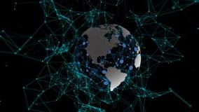 Fantasie-Zusammenfassungs-Technologie und Technik-Bewegungs-Hintergrund