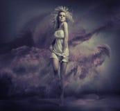 Fantasieart Bild der netten jungen Schönheit Stockfotos