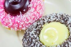 Fantasiedonut (Donut) Stockfotografie