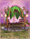 Fantasiegazebo Royalty-vrije Stock Fotografie