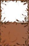 Fantasiehintergründe mit braunen Zweigen Lizenzfreie Stockfotos