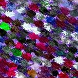 Fantasiehintergrund multi Farbe/Confetti Stockfoto