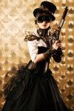 Fantasiekanon royalty-vrije stock foto's