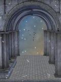 Fantasiekasteel Stock Afbeeldingen