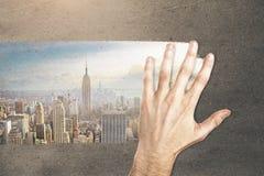 Fantasiekonzept Stockfoto
