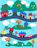 Fantasielandschaft Stockbilder
