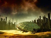 Fantasielandschaft Stockfoto