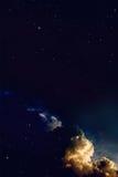 Fantasienächtlicher himmel Stockbilder
