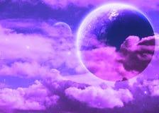 Fantasieplaneet Stock Afbeelding