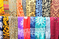 Fantasies batik Royalty Free Stock Image
