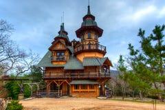 Gotisches Schloss Stockfotografie