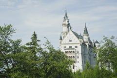 Fantasietraumgebäude im Neuschwanstein Schloss. Stockfoto