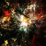 Fantasiexplosion Arkivbild
