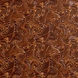Fantasifärg med swirl och linjer Royaltyfri Bild