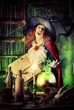 Fantasihäxa Royaltyfri Fotografi