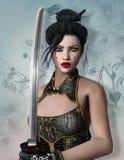 Fantasikrigare Royaltyfria Bilder