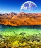 Fantasin landskap Arkivfoton