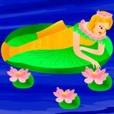 Fantasisjöjungfru Arkivbild