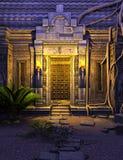 Fantasitempelport Royaltyfria Bilder