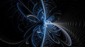 Fantasivärldarna av fractals Fotografering för Bildbyråer