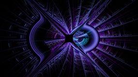 Fantasivärldarna av fractals Royaltyfri Fotografi