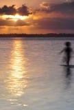 Fantasma al tramonto Immagini Stock Libere da Diritti
