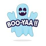 Fantasma asustadizo Imagen de archivo libre de regalías