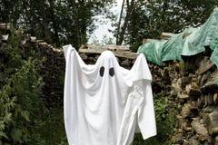 Fantasma blanco Fotos de archivo libres de regalías