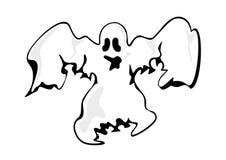 Fantasma branco Fotografia de Stock