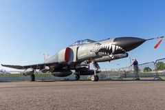 Fantasma da força aérea F-4 de Turquia Foto de Stock Royalty Free