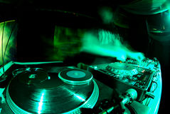 Fantasma de DJ Foto de archivo libre de regalías