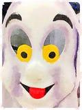 Fantasma de DW stock de ilustración