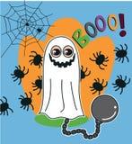 Fantasma de Halloween Imagens de Stock