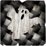 Fantasma de Halloween degradado ilustração royalty free