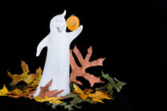Fantasma de Halloween - horizontal fotografia de stock royalty free
