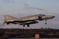 Fantasma de Luftwaffe F-4 Fotografía de archivo