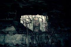 Fantasma del bunker della seconda guerra mondiale Fotografia Stock
