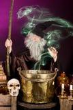 Fantasma del mago Fotografia Stock Libera da Diritti