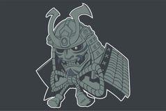 Fantasma del samurai Immagine Stock