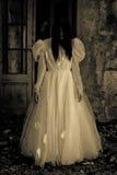 Fantasma della donna spaventosa Immagini Stock Libere da Diritti