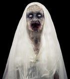 Fantasma dello zombie isolato Immagine Stock