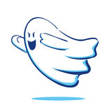 Fantasma di volo illustrazione vettoriale