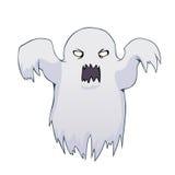 Fantasma do branco dos desenhos animados Fotografia de Stock