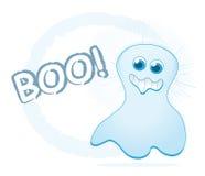 Fantasma dos desenhos animados Imagens de Stock