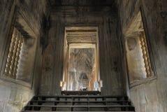 fantasma em Angkor Wat, Cambodia Fotos de Stock