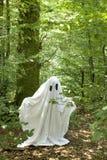 Fantasma en bosque Foto de archivo libre de regalías