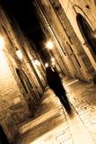 Fantasma en las calles 01 Foto de archivo