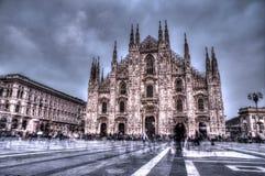 Fantasma en Milán Imágenes de archivo libres de regalías
